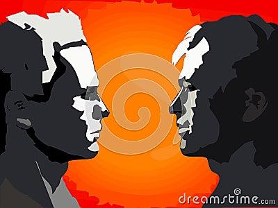 2 twarz