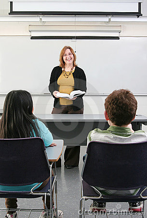 2 uczni nauczyciel
