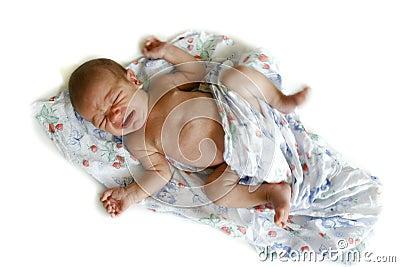 2 weken oude baby