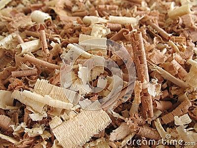 2 wood shavings