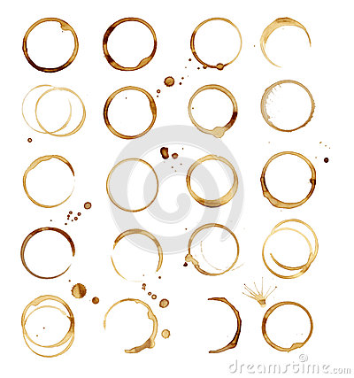 Free 20 Coffee Stain Royalty Free Stock Photos - 47852008