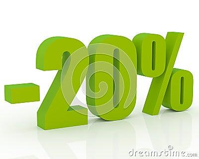 20  discount