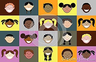 20 Kids Faces
