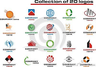 20 Logos Set - vector logo