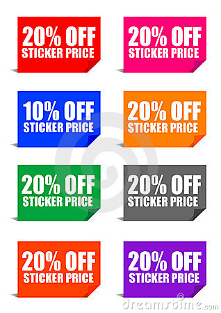 20  off sticker price