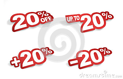 20 percent promotion