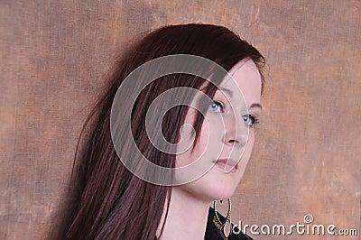 20 something year old female portrait