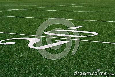 20 yard lijn