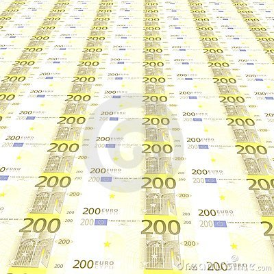 200 euros Background