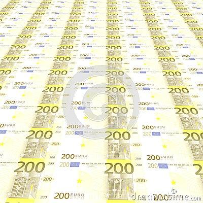 200 euros Background