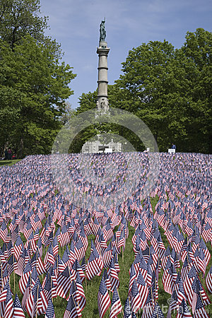 20000 American Flags