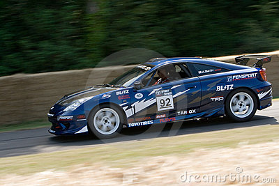 2001 toyota celica gt racing car Editorial Stock Image