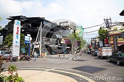 2002 Bali Bombing Site, Bali, Indonesia Editorial Image