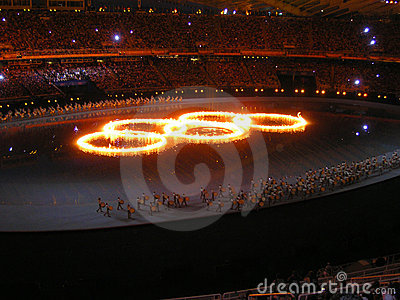 2004 Athens Summer Olympics Editorial Stock Photo