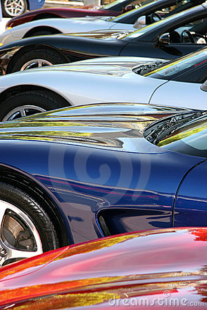 Free 2006 Corvettes Royalty Free Stock Images - 1179839
