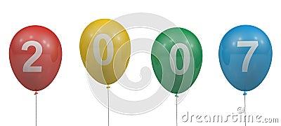 2007 balloons
