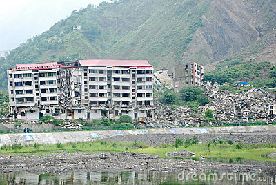 2008 512 Wenchuan Earthquake Editorial Stock Image