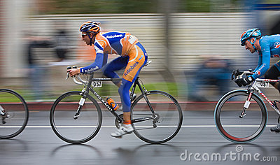 2008 AMGEN Tour of California Bike Race Editorial Stock Photo