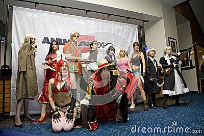 2008 Anime Expo Editorial Photo