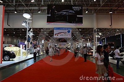 2008 auto expo Editorial Photo