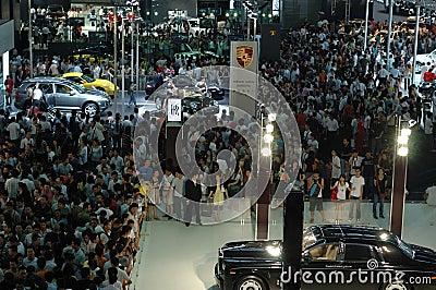 2008 Auto show Editorial Photo