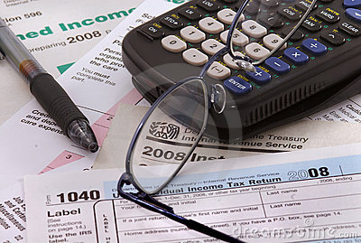 2008 Federal income tax forms