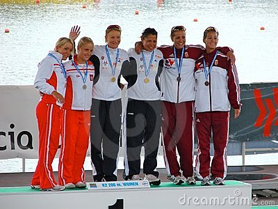 2008 Flatwater European Championships Editorial Photography