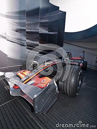 2008 Formula 1 Grand Prix in Catalunya Editorial Photography