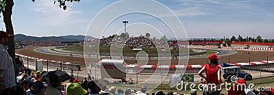 2008 Formula 1 Grand Prix in Catalunya Editorial Stock Image