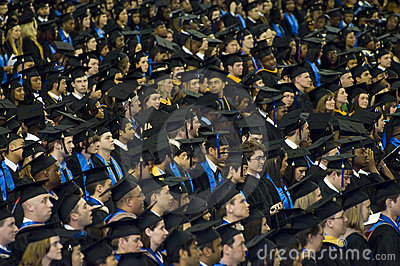 2008 georgia state university graduation ceremony Editorial Photography