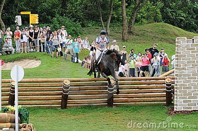 2008 Olympic Equestrian Events Editorial Stock Photo