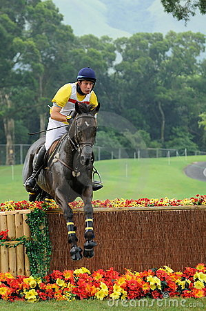 2008 Olympic Equestrian Events Editorial Photo