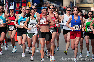 2008 US Women s Olympic Marathon Trials, Boston Editorial Image