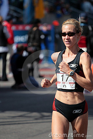 2008 US Women s Olympic Marathon Trials, Boston Editorial Image