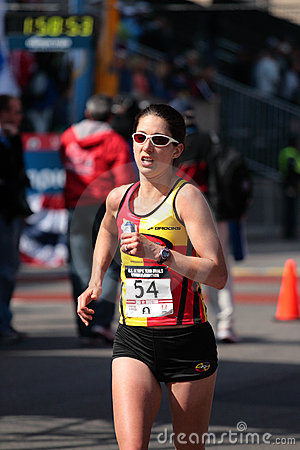 2008 US Women s Olympic Marathon Trials, Boston Editorial Photo