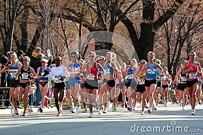 2008 US Women s Olympic Marathon Trials, Boston Editorial Photo