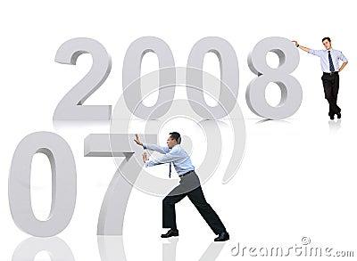 2008 welcome good bye 2007