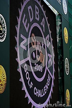 γκολφ πρόκλησης του 2009 28$ο Εκδοτική Φωτογραφία