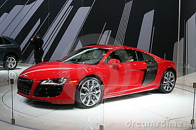 The 2009 AUDI R8 Editorial Stock Photo