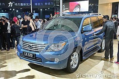 2009 auto-show Guangzhou Editorial Stock Image