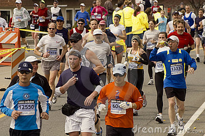 2009 Boston Marathon Editorial Photo