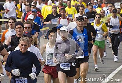 2009 Boston Marathon Editorial Photography