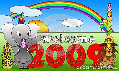 2009 cartoon