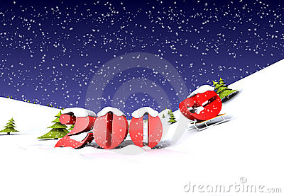 2009 is cooming (with snow)