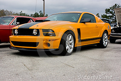 2009 Ford Mustang Boss 302 Stock Photography - Image: 12911872