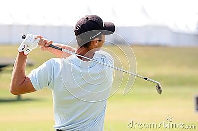 2009 franska ger golfkaymer öppna martin Redaktionell Fotografering för Bildbyråer