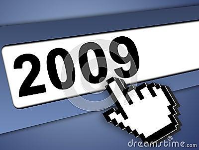 2009 internet concept