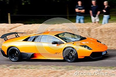 2009 Lamborghini Murcielago 670 Super Veloce Editorial Image