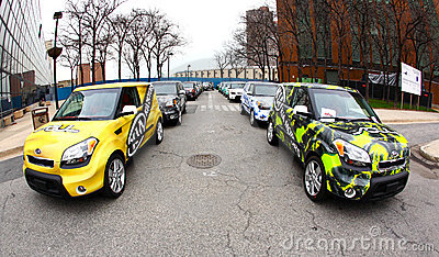 2009 NY International Auto Show Editorial Stock Image