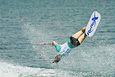 2009 Putrajaya Waterski World Cup Women Shortboard Editorial Image